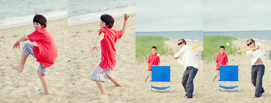 beach baseball at the new seabury beach club in cape cod.