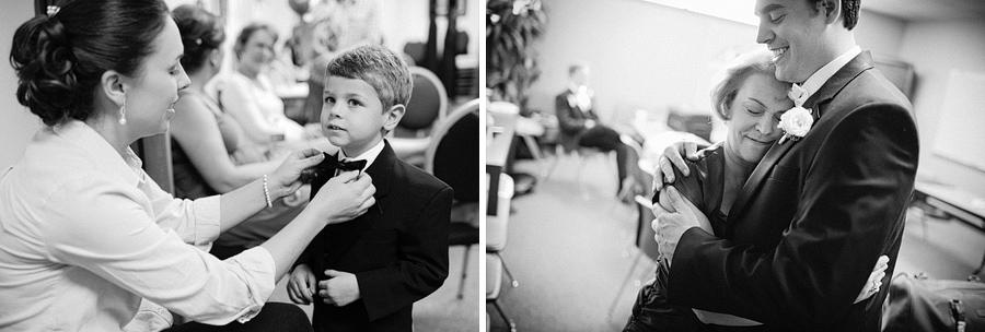 cute boy in a tuxedo