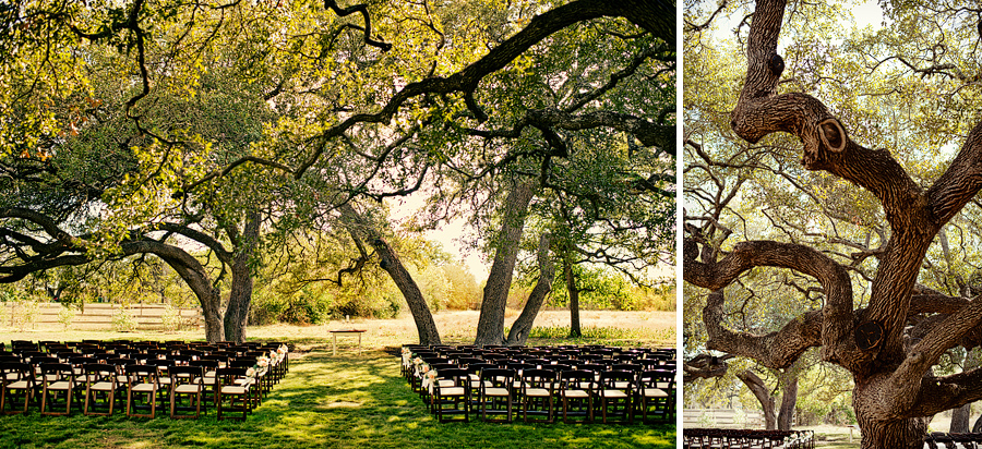 fairy tail outdoor wedding location venue in austin texas