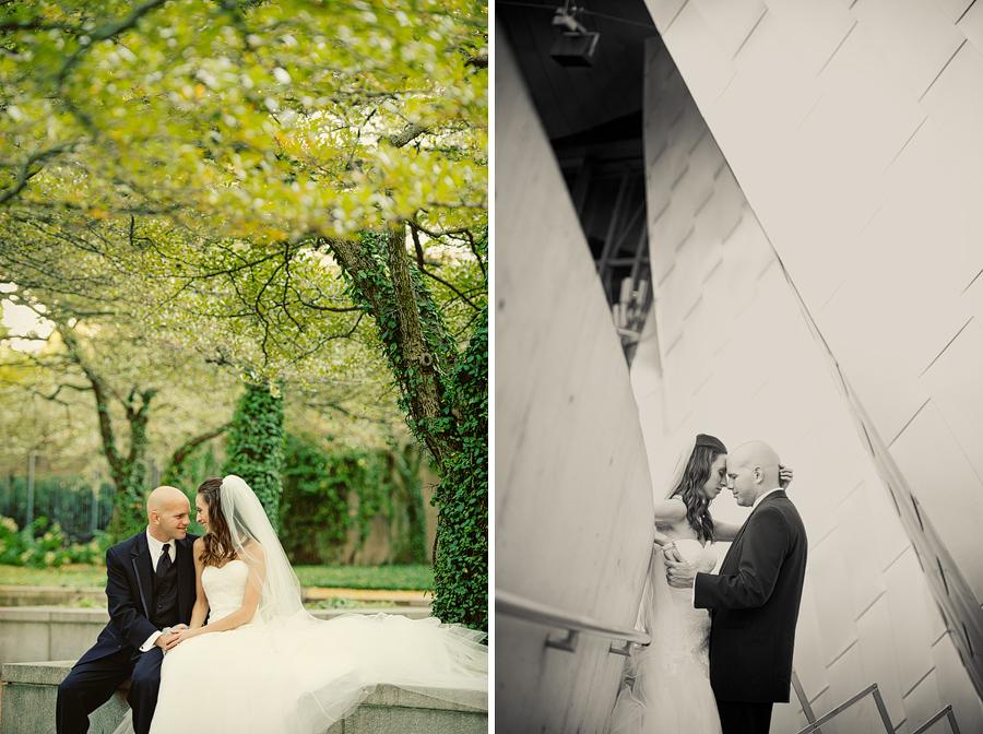 Millennium park wedding pictures