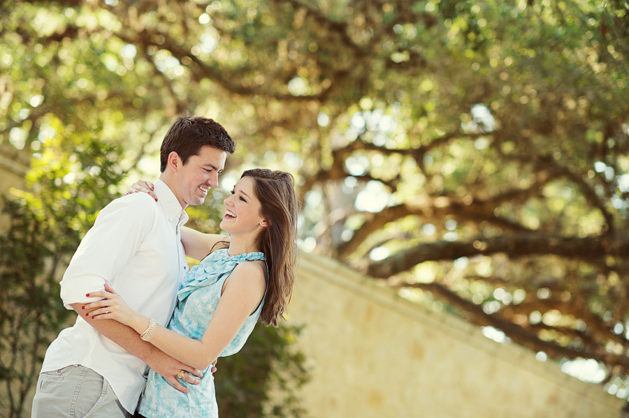 Houston Oaks Country Club Engagement Pictures