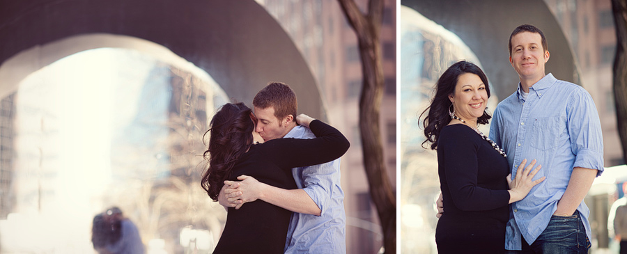 Dallas Wedding Photographer Kyle Coburn Engagements in NYC