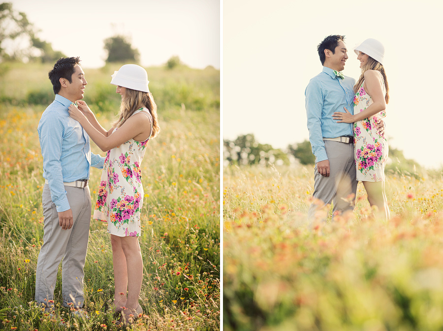 White Rock Lake in Dallas, Engagement pictures