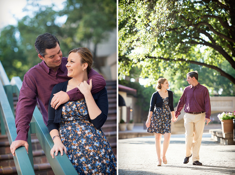Engagement photographers in Las Colinas Texas