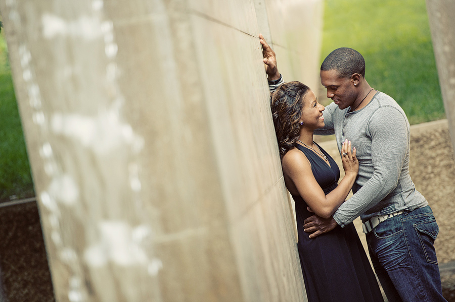 Ideas for engagement photos downtown