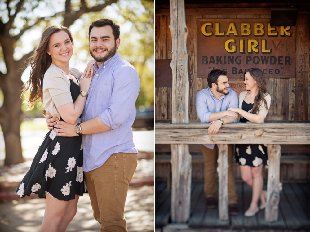 College station engagement photo ideas